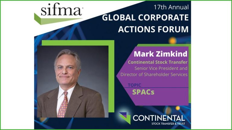 SIFMA Global Corporate Actions Forum