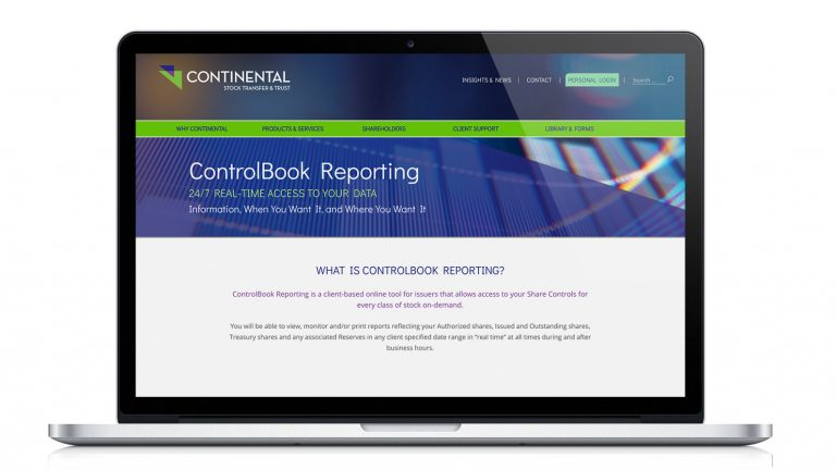 ControlBook Reporting Enhancements